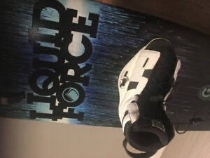 Planche wakeboard Liquid force PS3 141 grind series