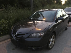 2006 Mazda Mazda3 Sedan - to use for parts. Engine will be gone
