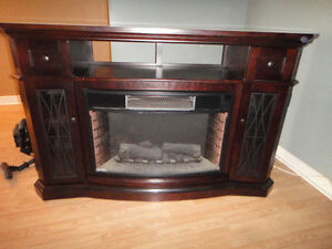 Fire place wall unit.