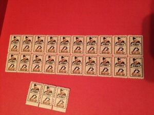 Timbres Pinky 1950-1960
