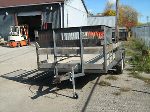 ramp etc selling 2 other trailers pics below  trades offers London Ontario image 7