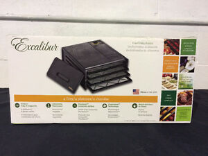 Excalibur Food Dehydrator 2400 Brand New in Sealed Box 4 Tray