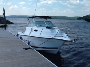 2001 Seaswirl Striper 2101 Walkaround / Johnson 150 HP