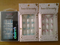 ***  NAILS...FOREVER 21 & CLAIRES 3/$5. ***