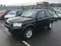 Land Rover Freelander 1.8 S * 4x4 * JEEP * ONLY 90K * AUGUST 17 MOT *