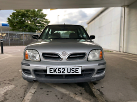 NISSAN MICRA 1.0 AUTOMATIC PETROL VERY LOW MILES ULEZ FREE 47,000 GE