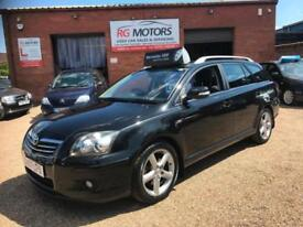 2007 Toyota Avensis 2.2 D-4D 180 Estate T180, Black, **ANY PX WELCOME**