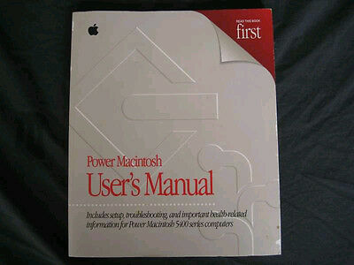 Apple Power Macintosh 5400 Series Computers User's Manual - 034-0002-A