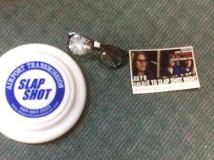 classic movie slap shot  Hanson brothers  1977  rare Frisbee and