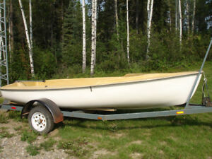 13 ft Flying Junior sailboat HULL  (no rigging or trailer)