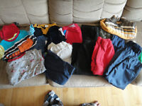 22 items of boy clothing size 18 months all for $30