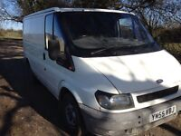 Ford transit 2006 for sale spares or repairs no MOT camper conversion