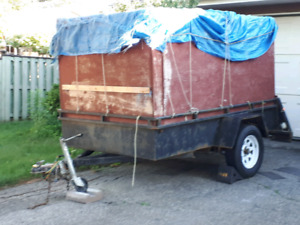 5x8 Enclosed Utility trailer.