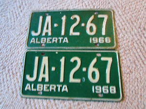 Looking for Alberta Collector Car Plates from 1958 - 73?