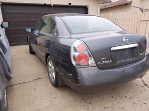 2006 Nissan altima se fully loaded for parts only