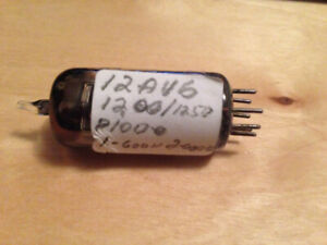 12AV6 General Electric audio tube