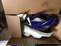 Yamaha yzf r125 fairing panel kit