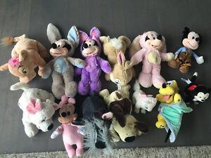 Disney store plush stuffed characters $8 each