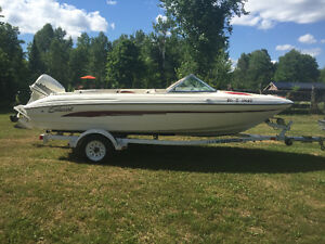 17ft bowrider 115 Johnson outboard