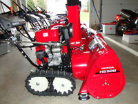New Honda snowblowers, HS 928, HS 1332