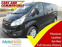 2014 64 FORD TOURNEO CUSTOM 300 L2 TITANIUM 125PS 9-SEATS DIESEL