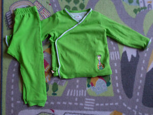 Tiny Tillia Green Outfit 12-18M