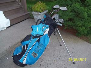 Women's Right Hand 9-pc Golf Clubs Set & Bag
