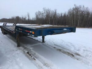 1968 King T/A 35 Ton Lowboy With Beavertails