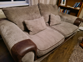 Sofa and Armchair