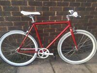 Single speed bike , fixie , road bike