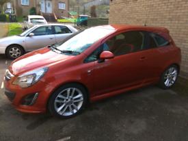 Vauxhall Corsa 1.4 SRi 100hp 2013 MOT 09.2021 low tax, low mileage