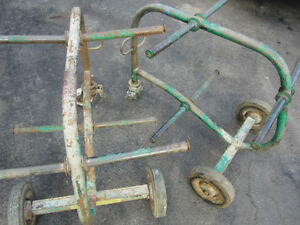 2 GREENLEE  909 MOBILE SIX SPOOL STEEL FRAME WIRE CART Windsor Region Ontario image 2