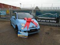 2013 (13) FIAT 500C 1.4 T-JET ABARTH FULLY LOADED CONVERTIBLE ONLY 58,000 MILES