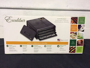 Food Dehydrator 4 Tray Excalibur 2400 Brand New in Sealed Box