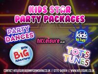 Kids Star Party Packages now available!
