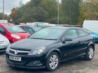 * 2009 VAUXHALL ASTRA 1.4L 3 DOOR COUPE SXI + ALLOYS + FOGLIGHTS *