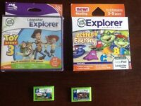 LEAPFROG LEAPPAD GAME CARTRIDGES