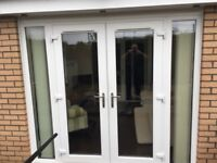 French doors and double glazing windows