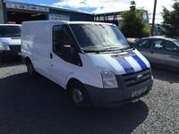 Ford Transit 2.2TDCi ( 85PS ) T260S ( Low Roof ) 2007 07 Reg SWB 1 owner