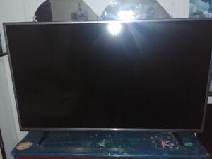 "55"" LG 4k smart tv with 4k upscaler"