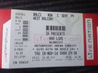 WWE LIVE Cardiff Motorpoint arena