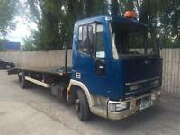 1997 P IVECO-FORD NEW CARGO 75e15 RECOVERY 7.5 TONN PX