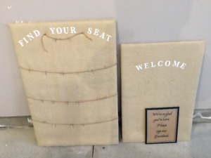 Rustic Wedding Seating Placement Board For Sale