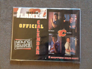 1997-98 Calgary Flames Young Guns Calendar