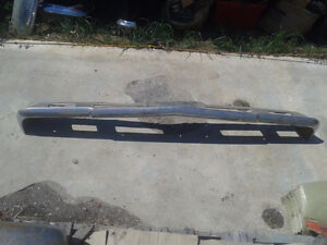 Factory used front bumper off of a 1966 Chevy Chevelle Belleville Belleville Area image 4