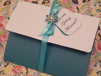 Custom WEDDING INVITATIONS made IN THUNDER BAY