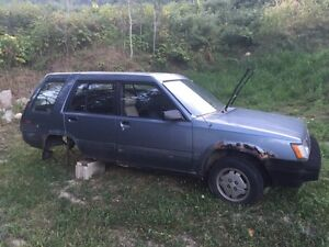 1987 Toyota 4wd parts