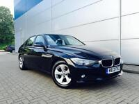 2012 12 Reg BMW 320d Efficient Dynamics + Black + Saloon + AUTO / TIPTRONIC / F1