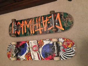 Complete skateboard for sale plus one for parts