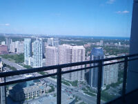 one bedroom on top floor of highrise in mississauga 1 june 15